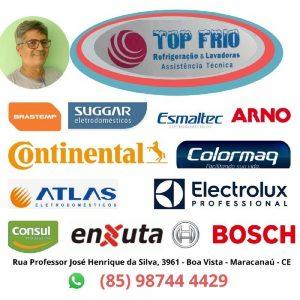 Top Frios – Assistência Técnica em Geladeiras, Geláguas e Máquinas de Lavar