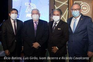 Read more about the article Empresários Ivan Bezerra e Luiz Girão são homenageados com Medalha do Mérito Industrial