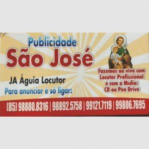 Publicidade São José – J A Aguiar Locutor